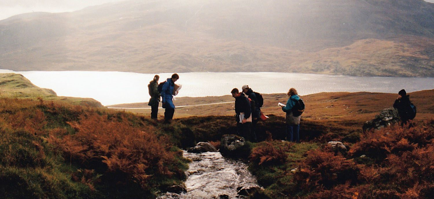 Geological mapping in Assynt, Scotland
