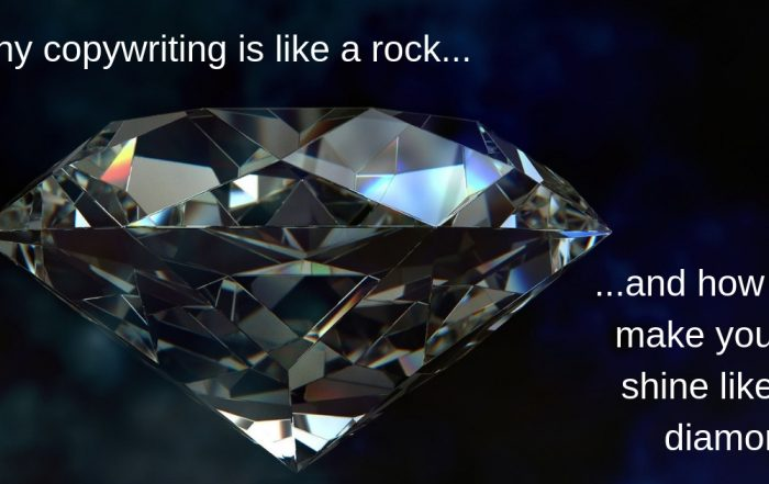 Why copywriting is like a rock...