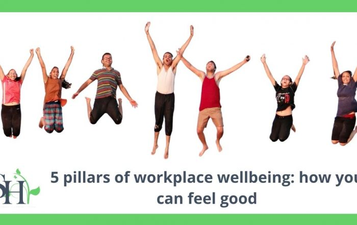 5 pillars of workplace wellbeing: how you can feel good