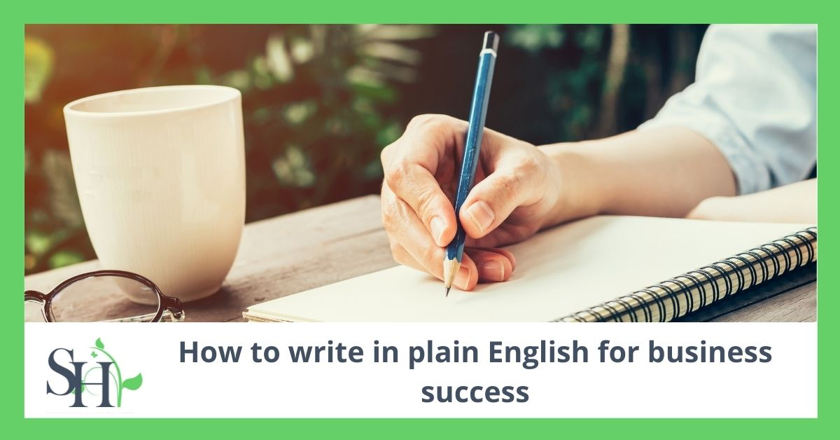 How to write in plain English for business success