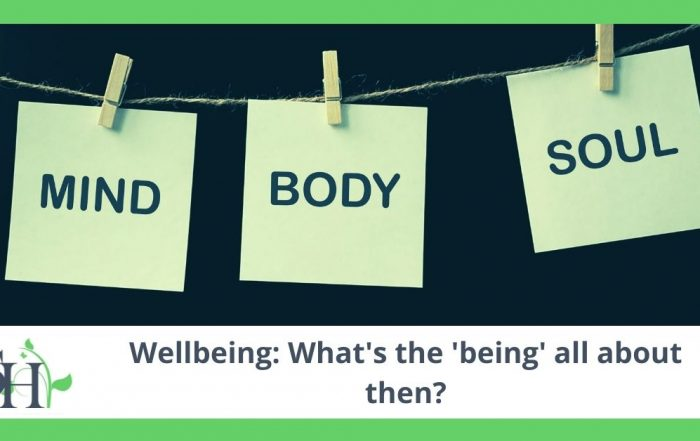 Wellbeing: What's the being all about then?